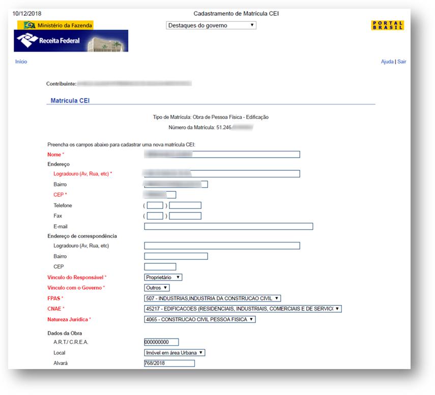 CEI Exemplo 1 - 10 Documentos do Imóvel para Financiamento Imobiliário na CAIXA