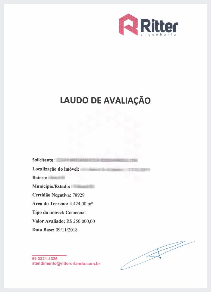 Capa Laudo Avaliacao - Laudo de Avaliação para financiamento imobiliário – Como a Caixa define o valor do imóvel?