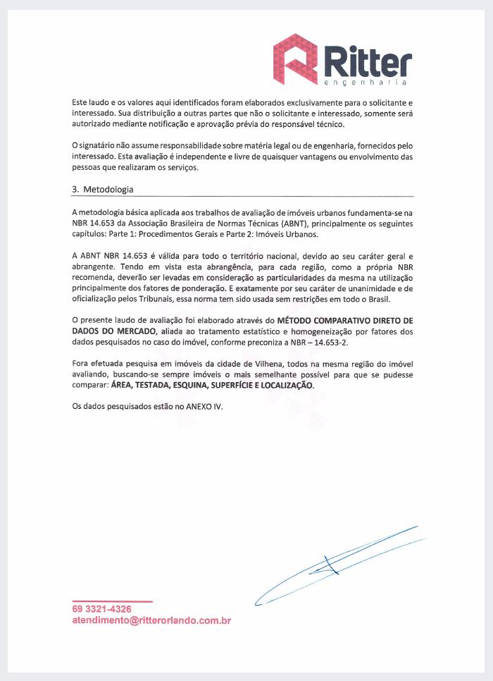 Corpo do Laudo de Avaliacao 2 - Laudo de Avaliação para financiamento imobiliário – Como a Caixa define o valor do imóvel?