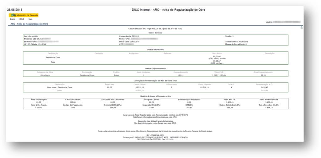 DISO Exemplo 1 1024x506 - 10 Documentos do Imóvel para Financiamento Imobiliário na CAIXA