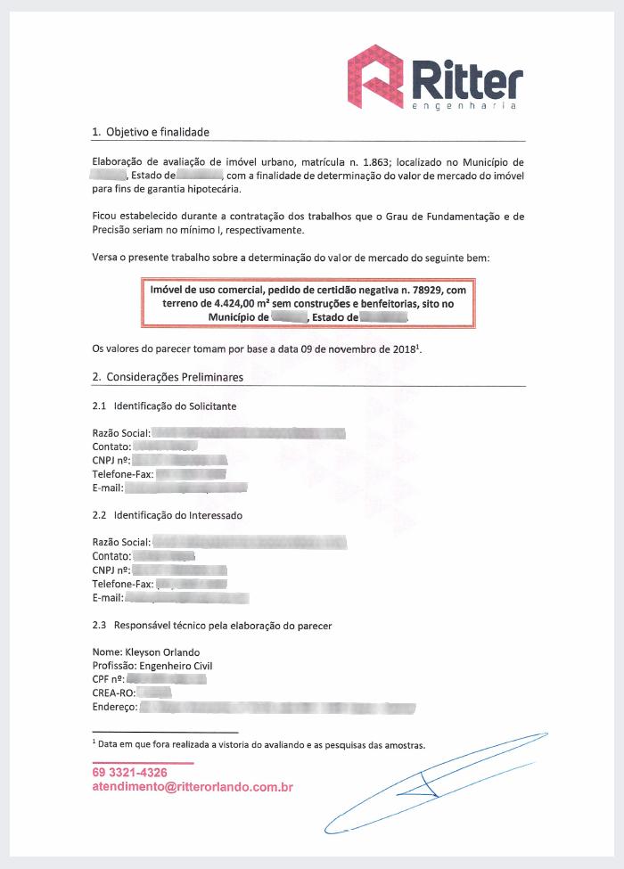 Indice Luado de Avaliacao - Laudo de Avaliação para financiamento imobiliário – Como a Caixa define o valor do imóvel?