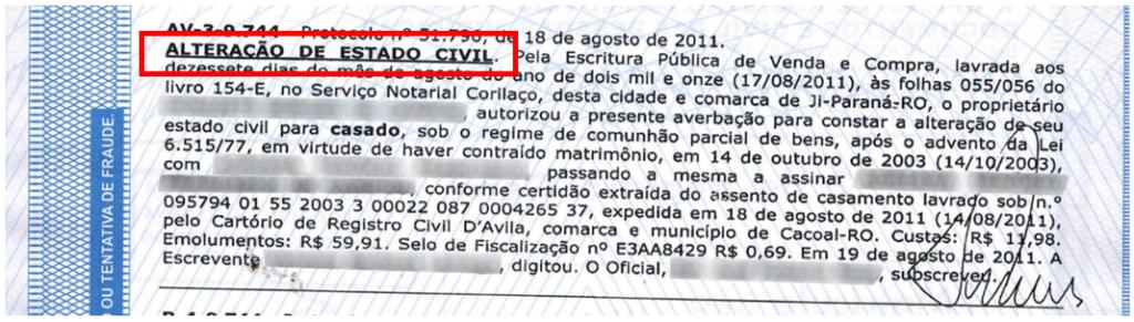 Inteiro Teor Estado Civil 1024x291 - Certidão Negativa 1 X 7 Inteiro Teor: Entenda essa goleada dos Cartórios