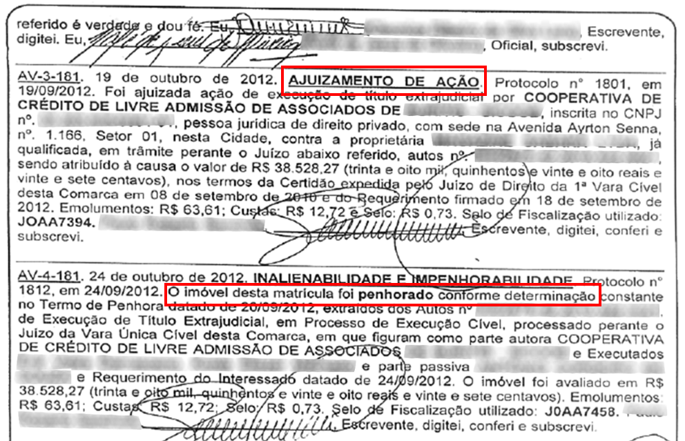 Inteiro Tero Acao Judicial - Certidão Negativa 1 X 7 Inteiro Teor: Entenda essa goleada dos Cartórios