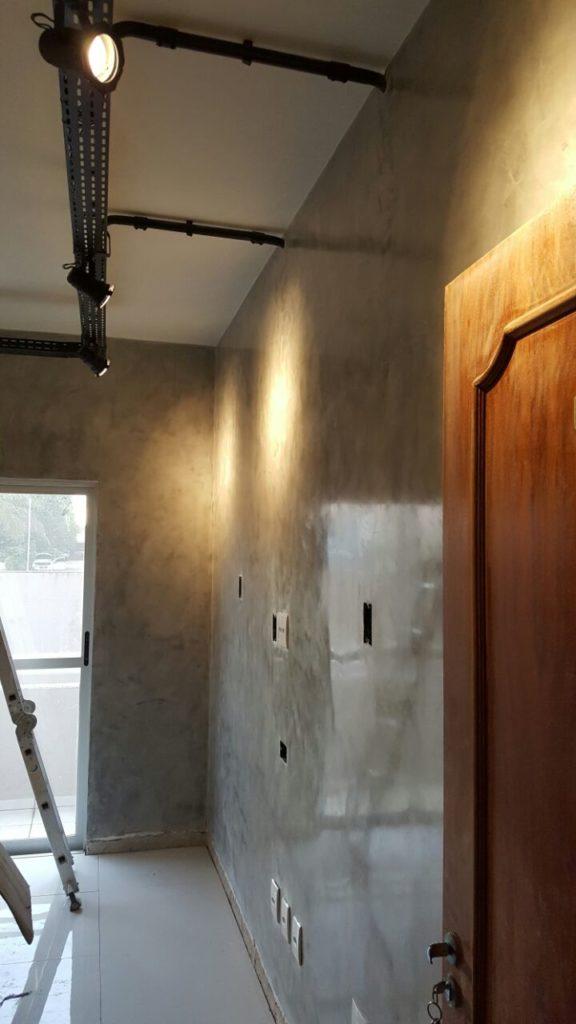 4.1 576x1024 - Cimento Queimado: Aprenda a fazer a parede do Mestre da Obra