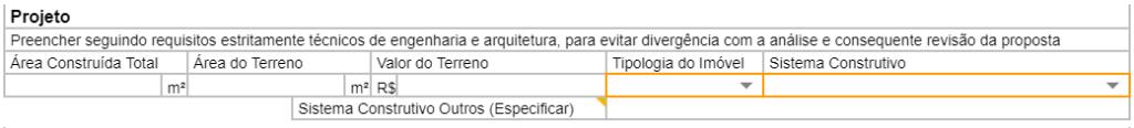 dados projeto 1 1024x116 - Nova Planilha PFUI Caixa 2021 [ Planilha PCI ] Tutorial Completo